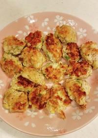 春色❁鶏モモひき肉と白菜のナゲット風