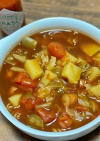【超簡単】市販のルーでトマデミスープ