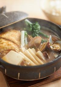 【aff】亀戸ダイコンのアサリ鍋