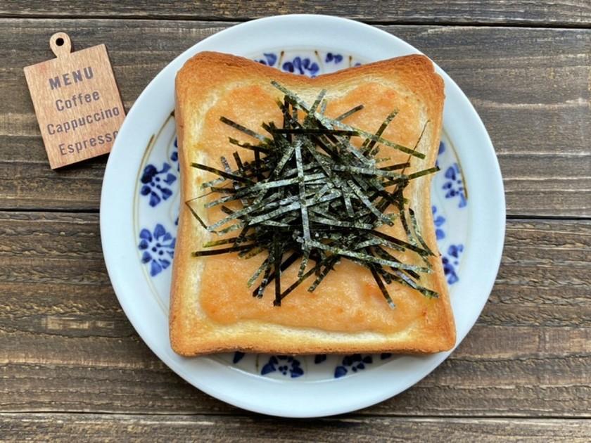 【冷凍作りおきトースト】海苔明太マヨ
