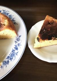簡単!フライパンでキャラメルバナナケーキ