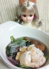 リカちゃん♡鯖(白子)鍋.·˖*