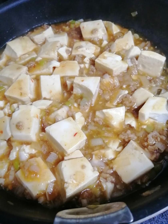 焼肉のタレで麻婆豆腐
