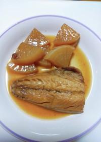 フライパンで簡単★鯖と大根のピリ辛煮
