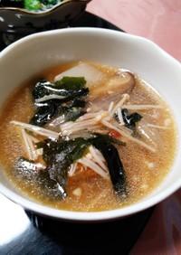 鶏肉と大根のスープ~味変2種