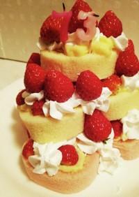 73歳バースデーケーキ