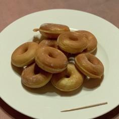 ドーナツメーカーで可愛いミニドーナツ