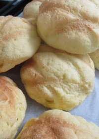 パン屋さんのメロンパン