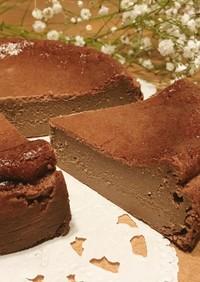 *生チョコチーズケーキ*