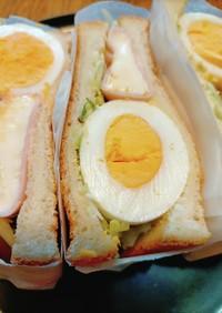 萌え断! 卵とカマンベールのサンドイッチ