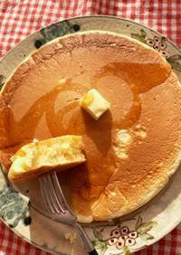 目指せ2cm越え!分厚いホットケーキ