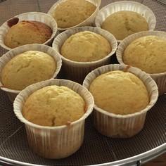 バターなし。蜂蜜カップケーキ♡