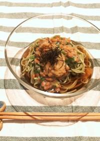 ◆柿うま太郎さんレシピ◆翡翠そば