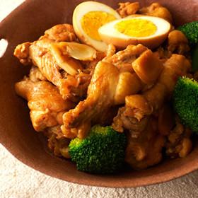 穀物酢とつゆで作る簡単!!鶏のさっぱり煮