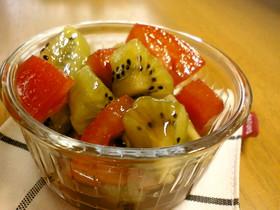 キウイフルーツ♥の甘~いサラダ