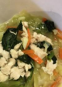 即席簡単中華風スープ