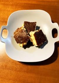 非常用カンパンリメイク☆簡単チーズケーキ