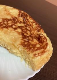 ココナッツオイルでシュワっとホットケーキ