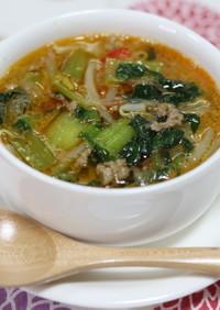 低カロリーで美肌効果♪春雨坦々スープ