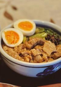 台湾のおふくろの味♪魯肉飯♪