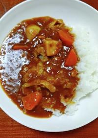 圧力鍋で里芋と鶏肉のカレー