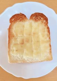 混ぜて焼くだけ!メロンパントースト