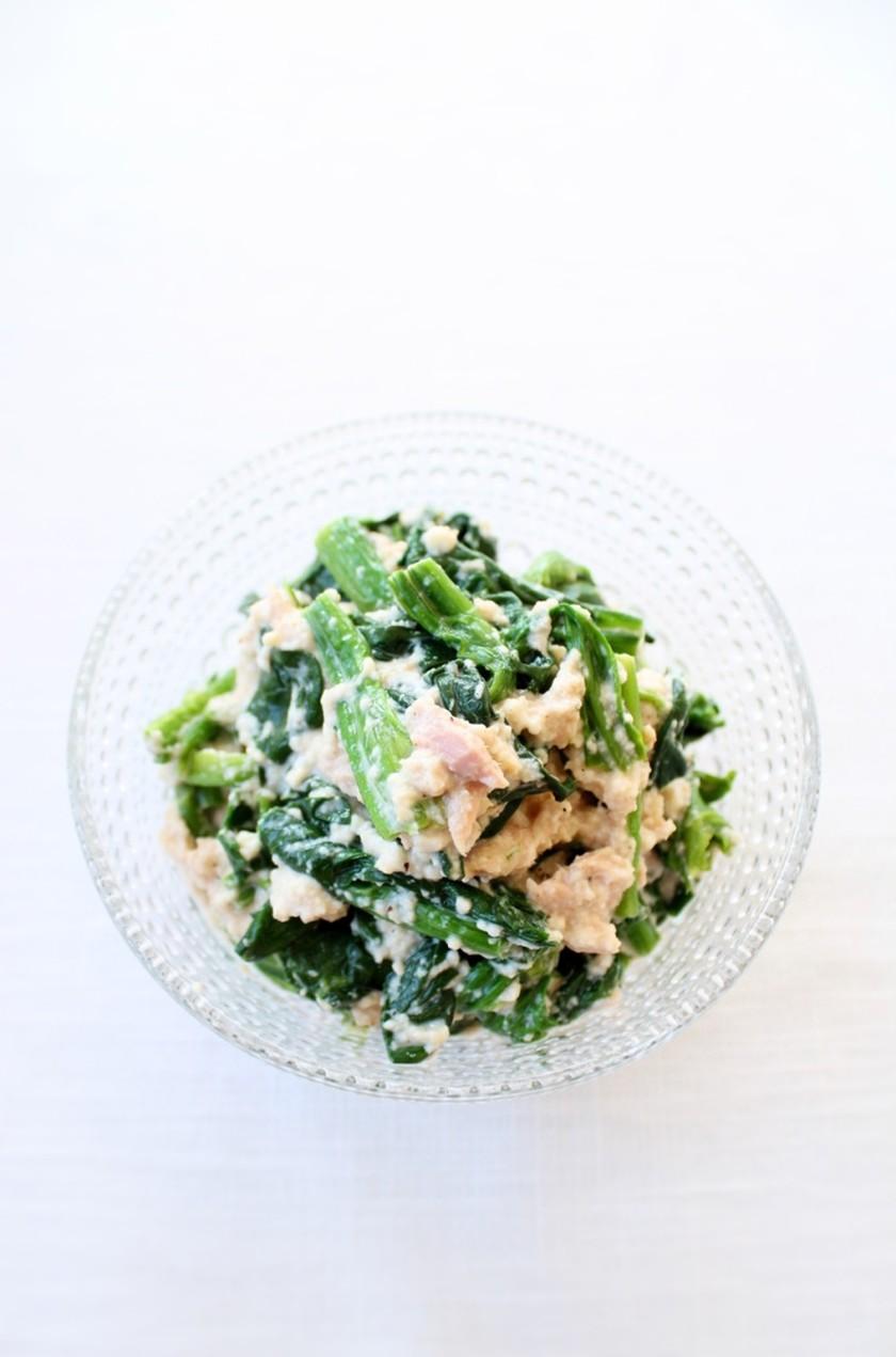 ヘルシーで美味しい【ほうれん草の豆腐和え