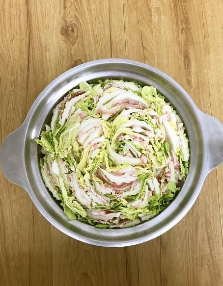 料理酒で★白菜と豚肉のミルフィーユ鍋