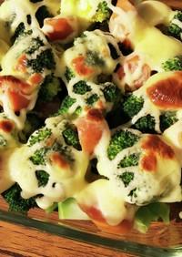 マヨチーズ焼き☆ブロッコリー&ウィンナー