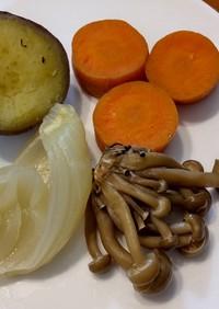 インスタントポット♥ただの蒸し野菜