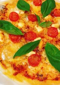 生地から作る♡サクサククリスピーピザ