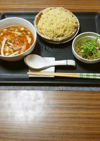 ヨウサマの減塩酸辣湯(サーラタン)つけ麺
