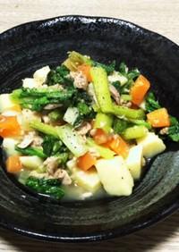 絶品⸝⋆小松菜と根菜のシーチキン和え⸝⋆