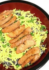 真っ黒海苔チラシ寿司
