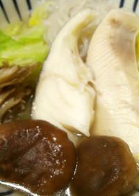 レクチンフリー白菜きのこ鍋