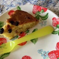 オリーブオイルでケーキ簡単!