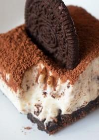 焼かない オレオチーズケーキ ♪