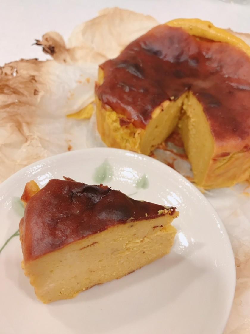 スパイスパンプキン バスクチーズケーキ風