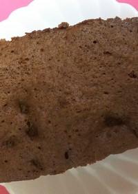 レンジで簡単☆チョコパウンドケーキ