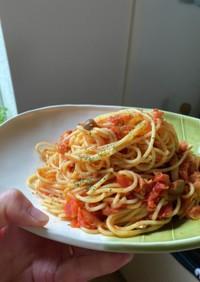 【離乳食にも】ツナとトマトのパスタ