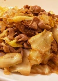 豚肉とキャベツの旨マヨ炒め