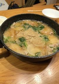 スライス大根の中華鍋