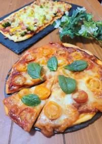 発酵なし♪簡単クリスピーピザ
