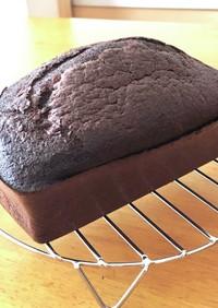 ソイファイバー♡ココアパウンドケーキ風
