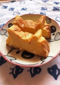 カッテージチーズでスフレチーズケーキ