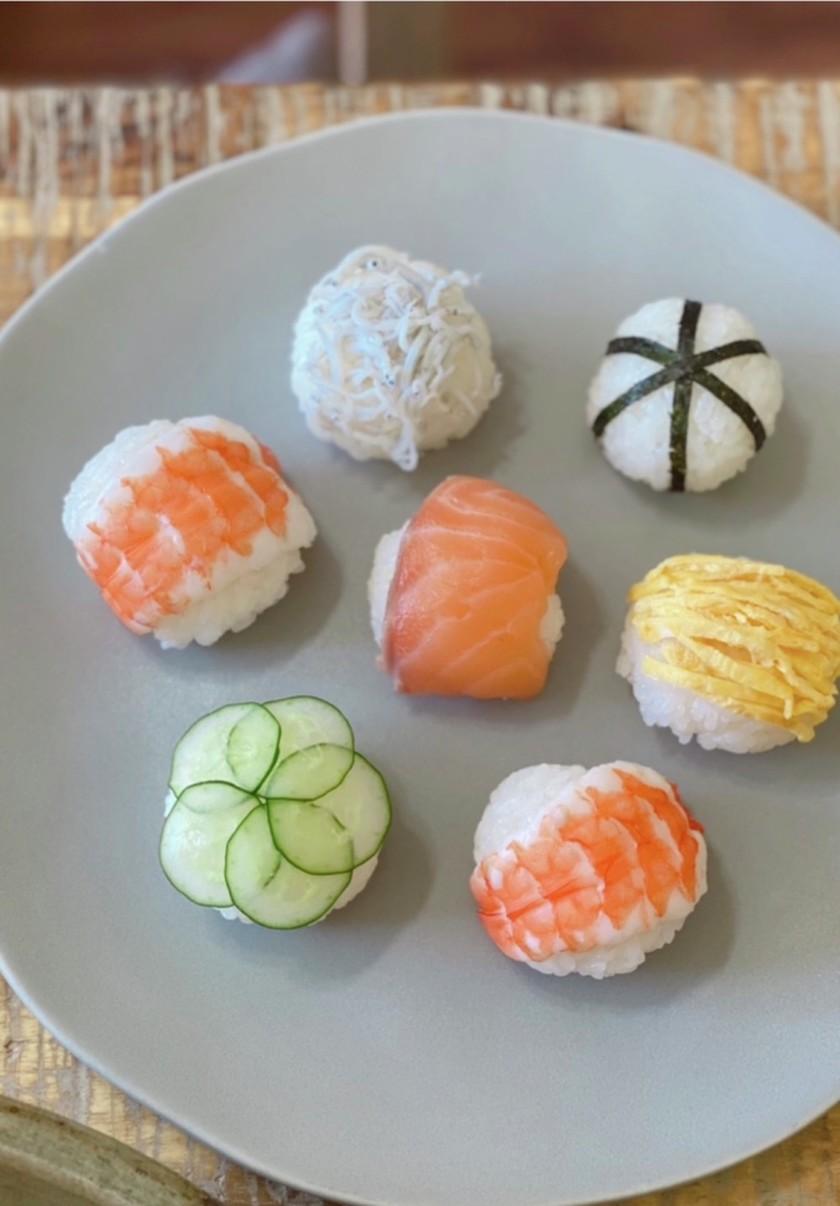 【ひな祭り】簡単手まり寿司【節句】