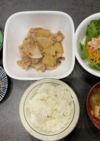 低フォドマップ食 夕飯献立《豚バラ大根》