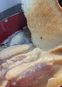 鶏手羽中のクリームシチュー
