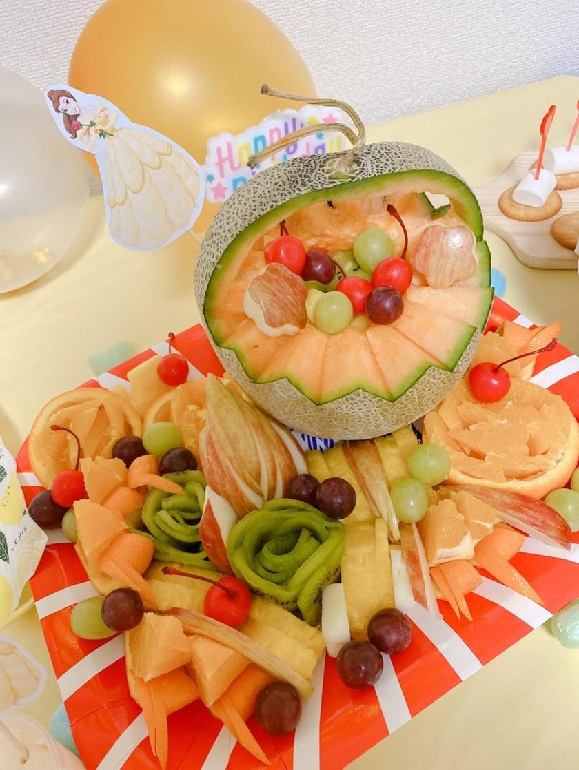 フルーツ盛り合わせ&飾り切り