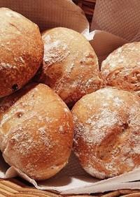 非力でも大丈夫。捏ねないくるみパン